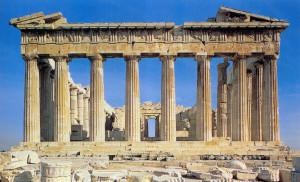 18-Atene, Partenone-Prospetto est